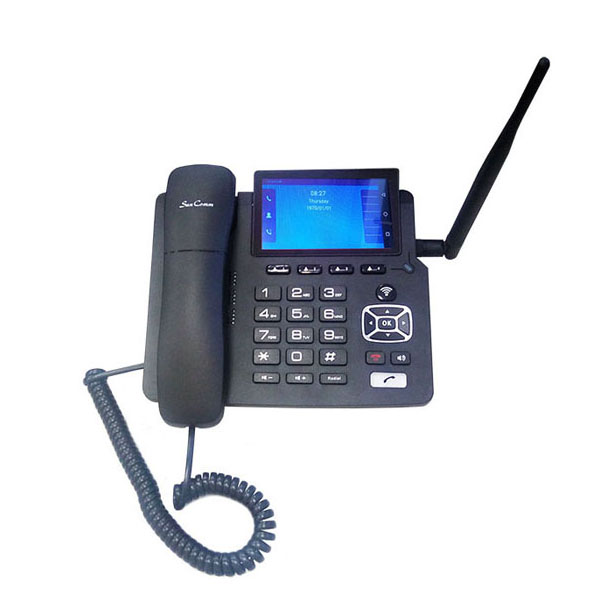 4G Fixed Wireless Phone with Tactile Screen, VoLTE, WiFi