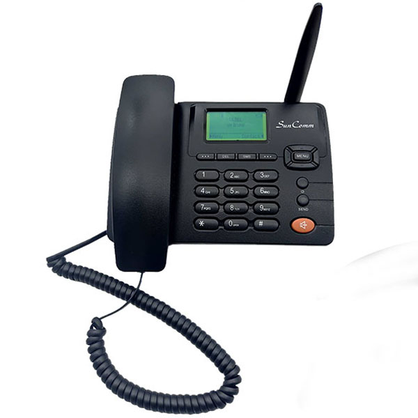 4G Fixed Wireless Phone with Mono LCD, WiFi, FDD & TDD