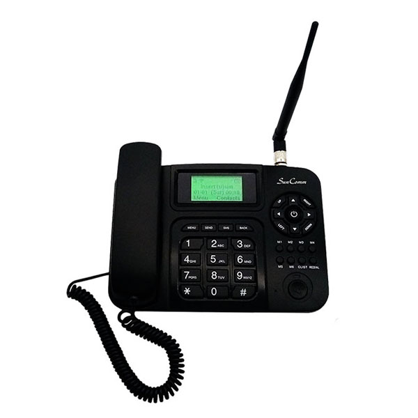 4G Fixed Wireless Phone with Mono LCD, WiFi, AMR-WB, VoLTE, FDD & TDD