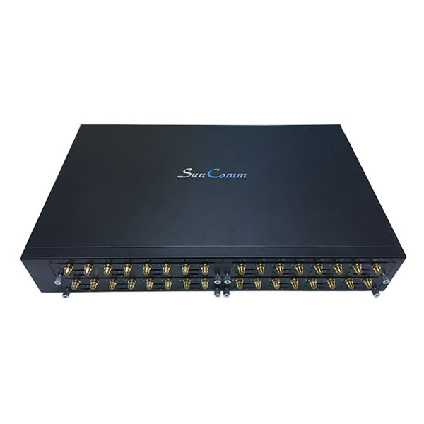4G LTE VoIP Terminal with 32 SIM